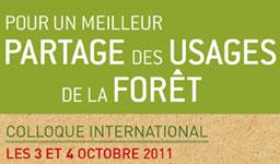 Colloque Partage Forêt ACTU