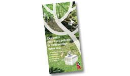 """Page de garde de la brochure """"Des forêts pour l'eau potable : la forêt protège votre eau"""""""