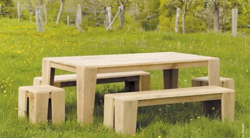 meubles en chêne écoresponsables