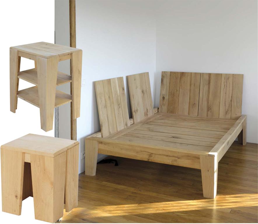 des meubles en chêne écoresponsables - france bois forêt - Meuble Bois Brut Design