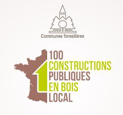 Logo 100 constructions publiques en bois local